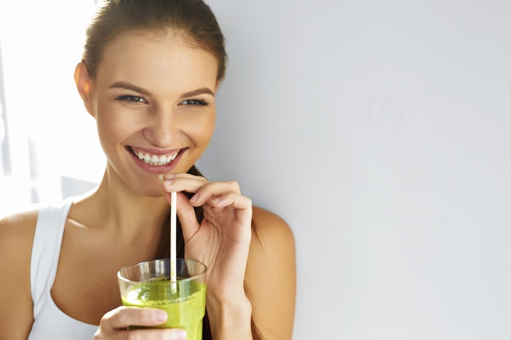 cure detox printemps femme smoothie